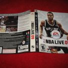 NBA Live 09: Playstation 3 PS3 Video Game Case Cover Art insert