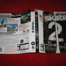 Skate 2 : Playstation 3 PS3 Video Game Case Cover Art insert