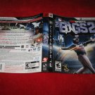 The Bigs 2 : Playstation 3 PS3 Video Game Case Cover Art insert