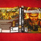 Mercenaries 2 : Playstation 3 PS3 Video Game Case Cover Art insert