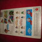 1984 Marvel Secret Wars Action Figure: Wolverine - Original Cardboard Packaging Cardback