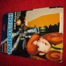 1985 Matchbox Robotech Action Figure: Lisa Hayes - Original Cardboard Packaging Cardback