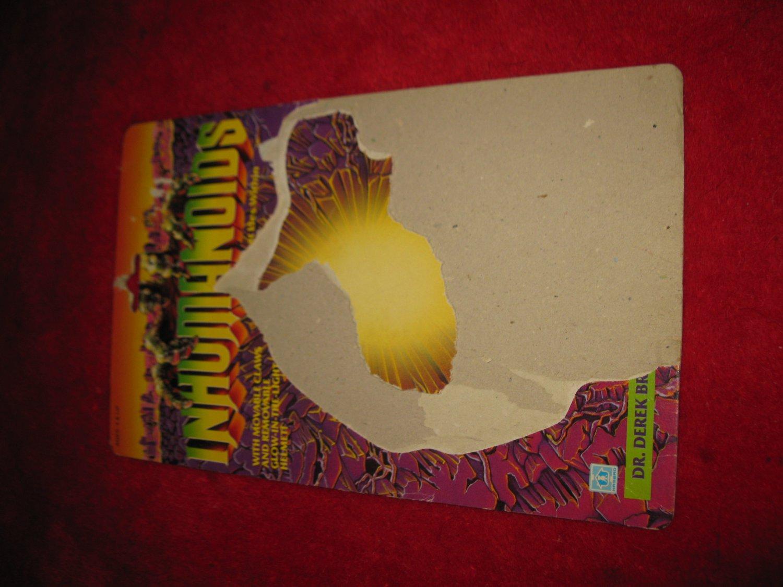 1986 Inhumanoids Action Figure: Dr. Derek Bright - Original Cardboard Packaging Cardback
