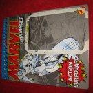 1990 Marvel Super Heroes Action Figure: Silver Surfer - Original Cardboard Packaging Cardback