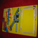 1987 Tandem Bricks building Block toys: Dinosaurs - Original Cardboard Packaging Cardback