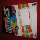 1988 Intex Reaction Corp Die Cast Cars: Color Splash - Original Cardboard Packaging Cardback