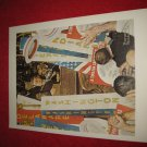 "vintage Norman Rockwell: A Time For Greatness (Kennedy Election) - 10"" x 13"" Book Plate Print"