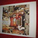 "vintage Norman Rockwell: Traffic Conditions - 10"" x 13"" Book Plate Print"
