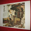"vintage Norman Rockwell: Saying Grace - 10"" x 13"" Book Plate Print"