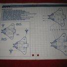 1988 G.I. Joe ARAH Action Figure- Destro Despoiler: Instruction Booklet-  foldout insert