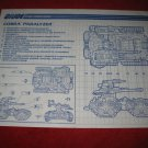 1990 G.I. Joe ARAH Action Figure- Cobra Paralyzer: Instruction Booklet-  foldout insert