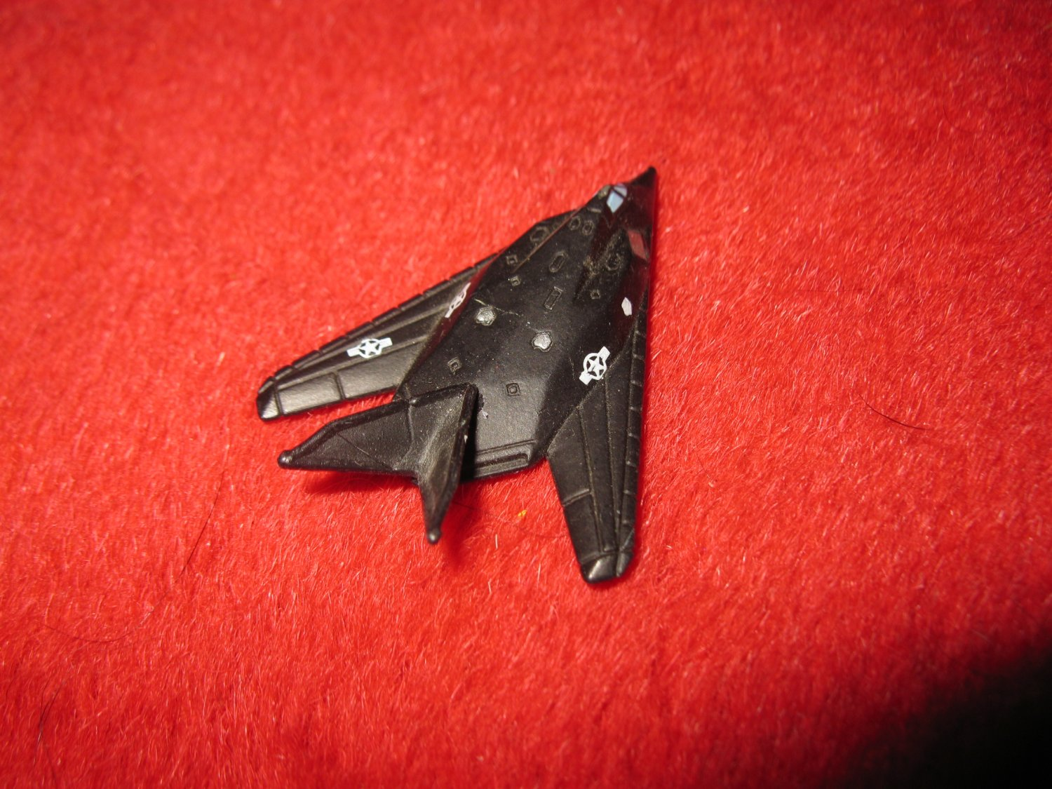 1992 Micro Machines Mini Diecast vehicle: F-117 Stealth Fighter Jet