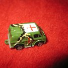 1989 Micro Machines Mini Diecast vehicle: Military First Aid Green Camo Van
