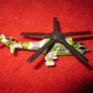 1992 Micro Machines Mini Diecast vehicle: Helicopter MI-24 Hind Gunship