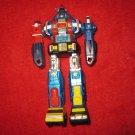 "1982 Japan Bandai VOLTRON DAIRUGGER XV GB-73 6"" Diecast Robot"