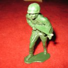 "vintage 5"" military action figure: US WW2 Army Man w/ Machine Gun"