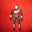 1993 UCS / Playmates action figure: Exosquad - black clothes - (Damaged foot)