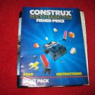 1986 Fisher Price : Construx Action Building System Part- Instruction Booklet #6060