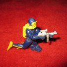 1987 GUTS Action Figure: E15 Diver Grunt kneeling w/ Machine Gun