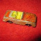 1980's Tootsietoy Diecast Metal Vehicle:Mercedes 450 SL - repainted , bad job