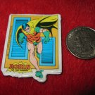Vintage 1982 Cartoon Refrigerator Magnet: DC Comics Robin The Teen Wonder Posing