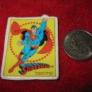 Vintage 1982 Cartoon Refrigerator Magnet: DC Comics Superman in Action