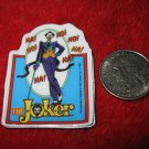 Vintage 1982 Cartoon Refrigerator Magnet: DC Comics The Joker