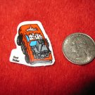 1980's Matchbox Off Road 4x4's Refrigerator Magnet: Red Rider