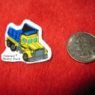 1980's Matchbox Off Road 4x4's Refrigerator Magnet: Peterbilt Quarry Truck