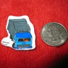 1980's Matchbox Off Road 4x4's Refrigerator Magnet: Refuse Truck