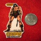 1984 Marvel Comics Conan The Barbarian Refrigerator Magnet: #14