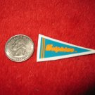 198o's NFL Football Pennant Refrigerator Magnet: Dolphins