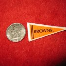 198o's NFL Football Pennant Refrigerator Magnet: Browns