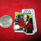 1990 Dick Tracy Movie Refrigerator Magnet: Pruneface in action