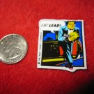 1990 Dick Tracy Movie Refrigerator Magnet: Flattop in Action #2