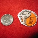 1982 E.T. Extraterrestrial Refrigerator Magnet: E.T. and Me