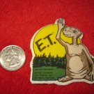 1982 E.T. Extraterrestrial Refrigerator Magnet: Oversized