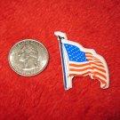 1970's American USA Refrigerator Magnet: Flag on Pole