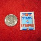 1970's American USA Refrigerator Magnet: Stars & Stripes