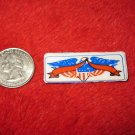 1970's American USA Refrigerator Magnet: Eagle with Banner