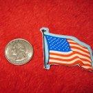 1970's American USA Refrigerator Magnet: Flag on Pole #2