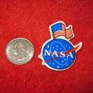 1970's American USA Refrigerator Magnet: NASA Logo