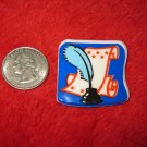 1970's American USA Refrigerator Magnet: Document w/ Ink Quill