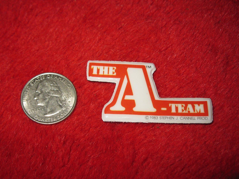 1983 The A-Team TV Show Refrigerator Magnet: Logo