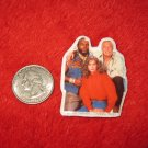 1983 The A-Team TV Show Refrigerator Magnet: B.A. Baracus, Hannibal, Amy Allen