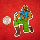1980's Mr. T Cartoon TV Show Refrigerator Magnet: bending Metal Bar