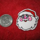 1970's Christmas Themed Refrigerator Magnet: Santa Claus Head