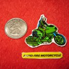 1982 G.I. Joe Cartoon Series Refrigerator Magnet: Rapid-Fire Motorcycle w/ Label