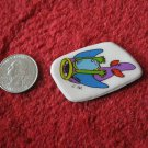 1980's Cartoon Vehicles Series Refrigerator Magnet: Jet Plane