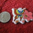 1980's Cartoon Rainbow Butterflies Series Refrigerator Magnet: #1